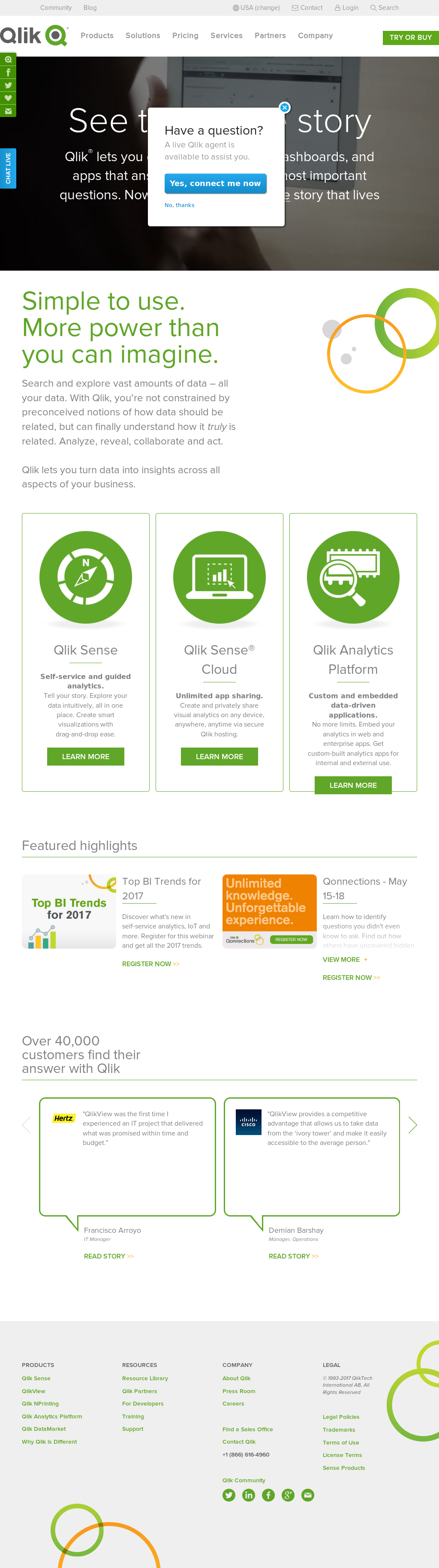 Qlik Competitors, Revenue and Employees - Owler Company Profile