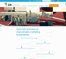Zift Solutions website history