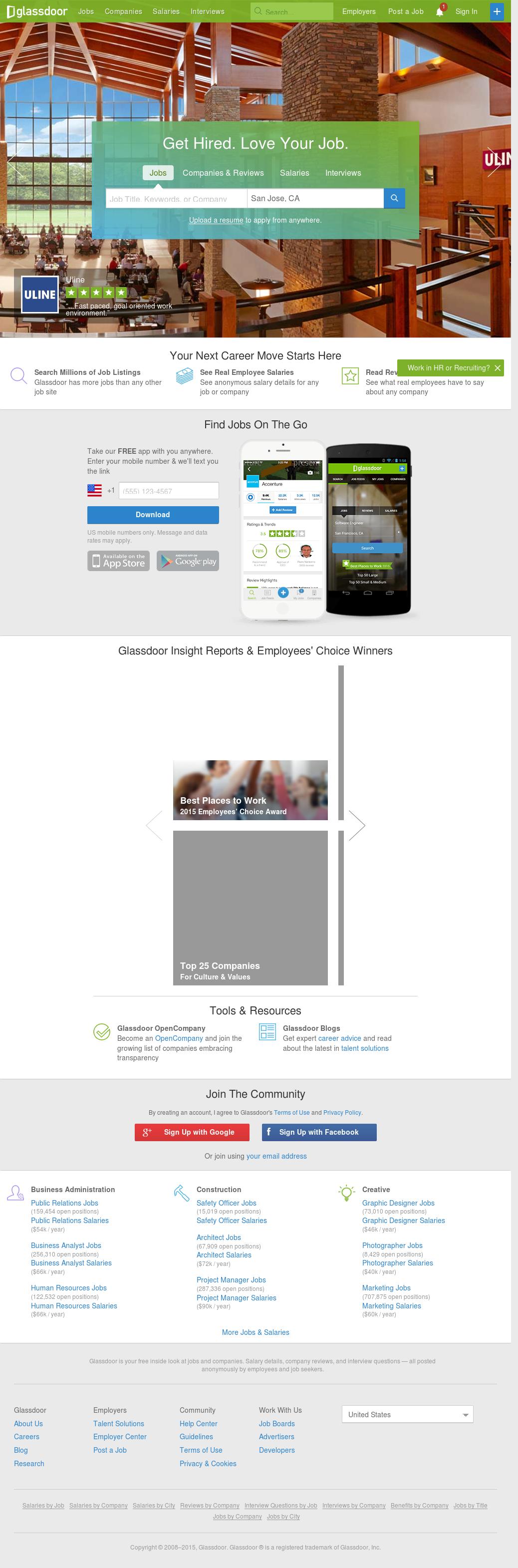 Glassdoor Competitors, Revenue and Employees - Owler Company Profile
