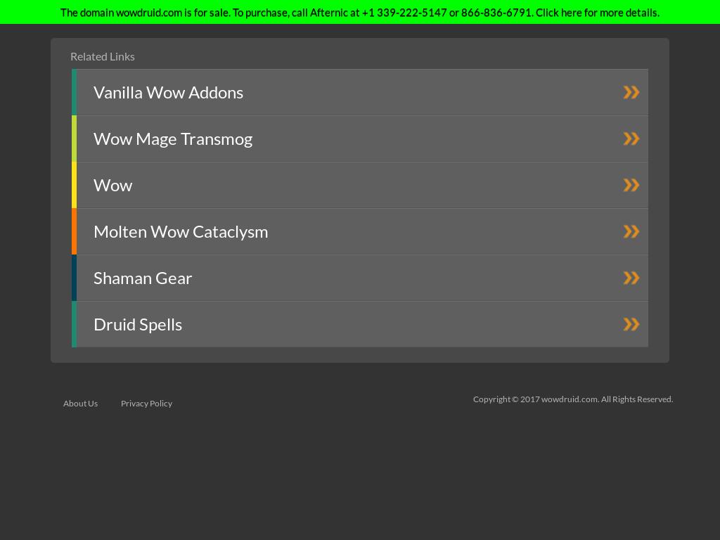 Vanilla Druid Pvp Gear