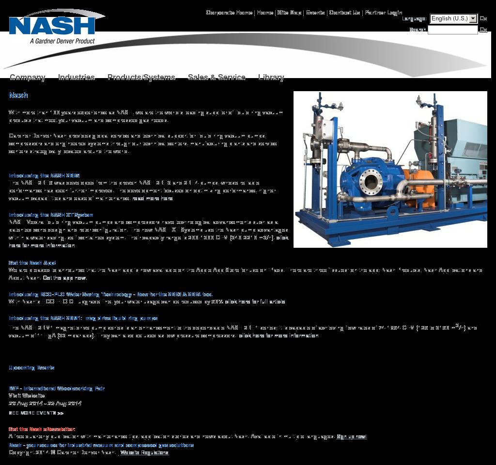 Gdnash Competitors Revenue And Employees Owler Company Profile Vacuum Pump Diagram Nash
