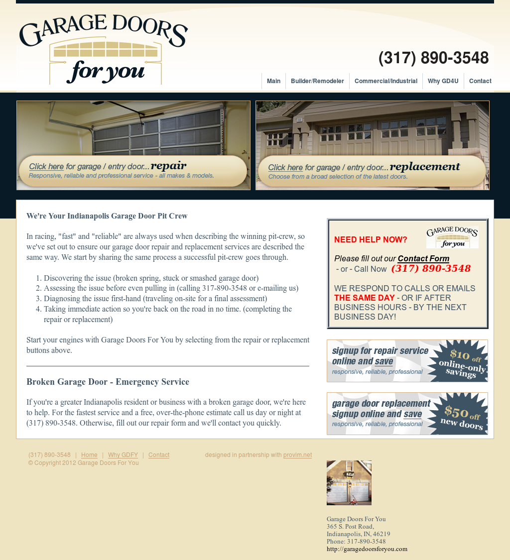 Garage Doors For You Competitors Revenue And Employees Owler