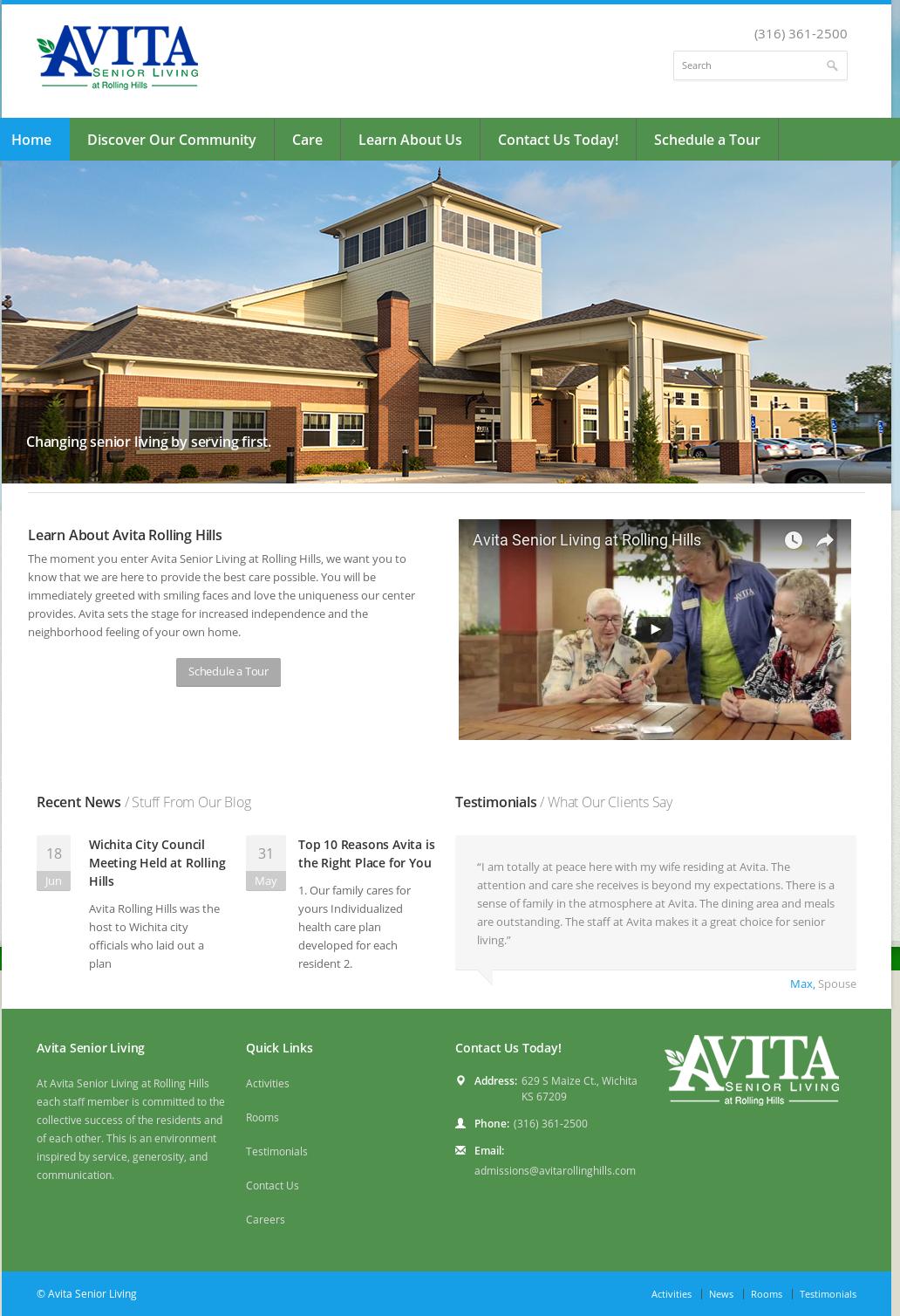 avita senior living competitors revenue and employees owler