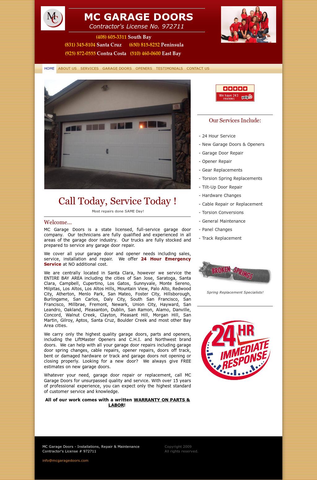Mc Garage Doors Competitors Revenue And Employees Owler Company