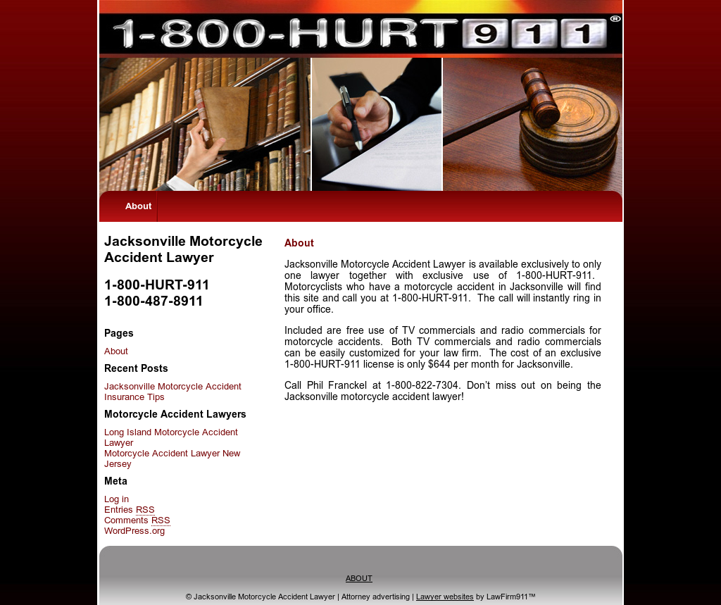 Jacksonville Motorcycle Accident Lawyer Competitors, Revenue and