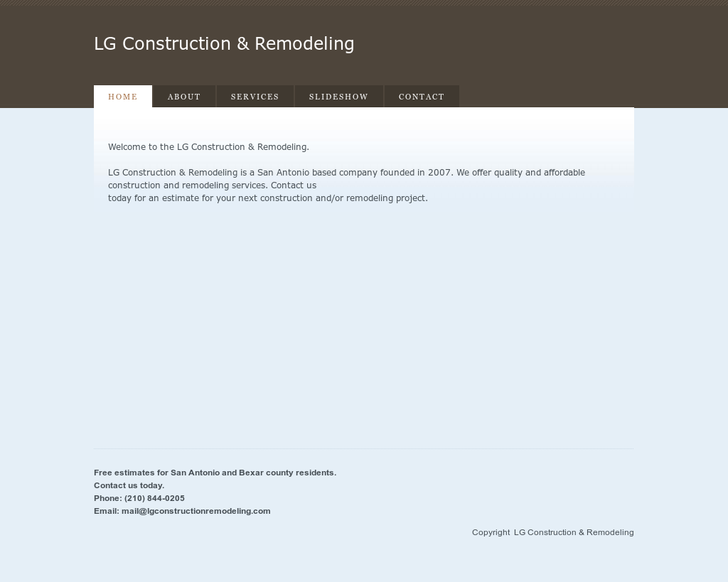 lg construction & remodeling competitors, revenue and employees