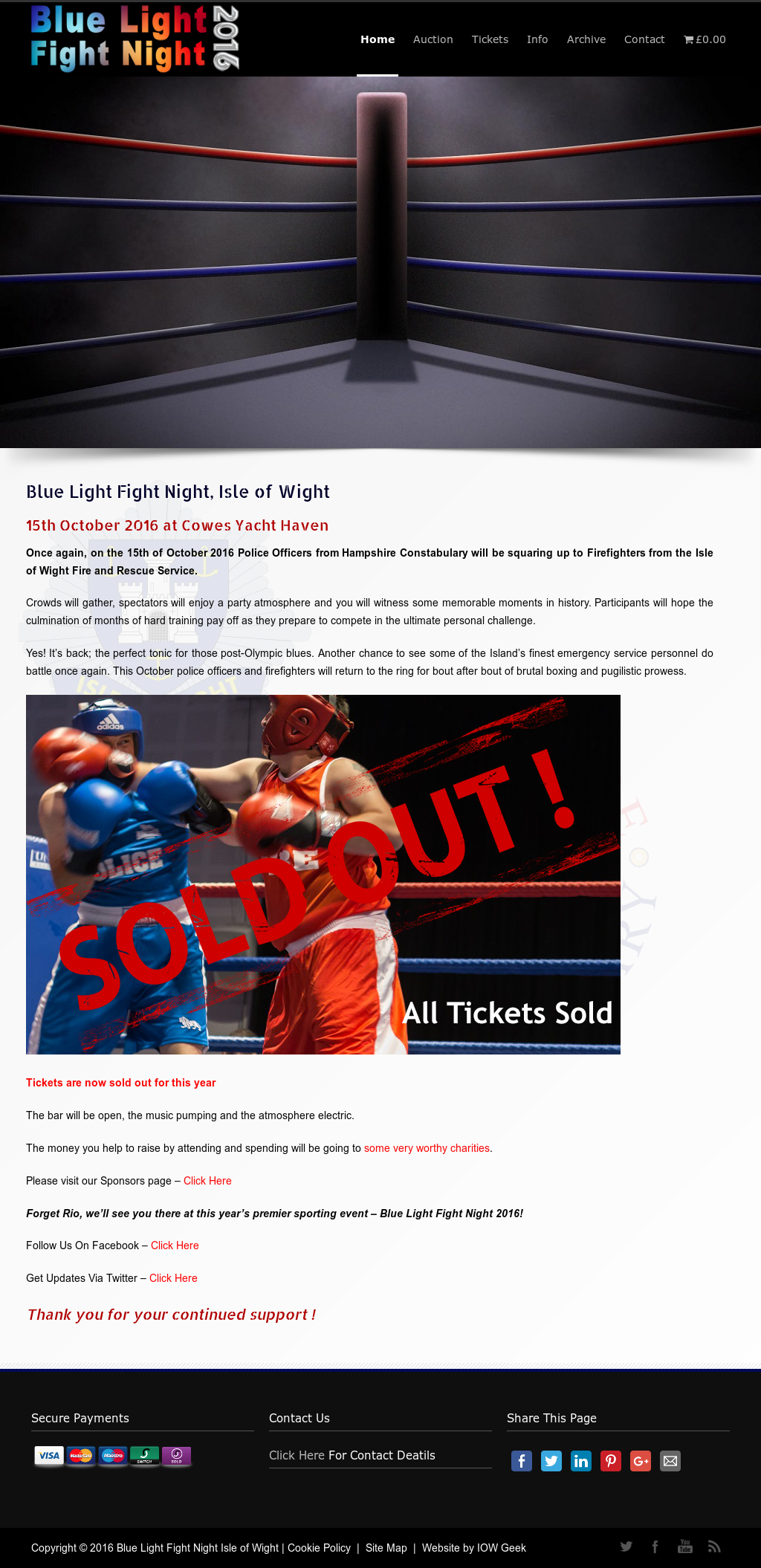 Blue Light Fight Night Isle Of Wight Competitors, Revenue