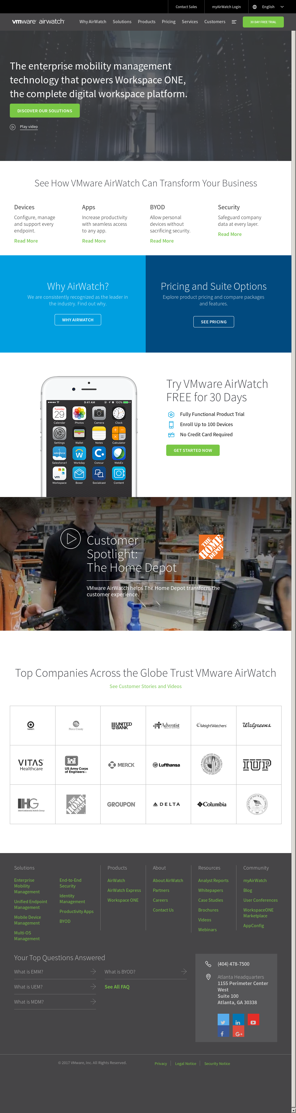 AirWatch Competitors, Revenue and Employees - Owler Company