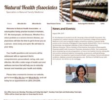 Natural Health Associates Hamden