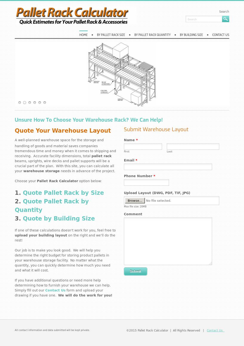 Pallet Rack Calculator Competitors, Revenue and Employees