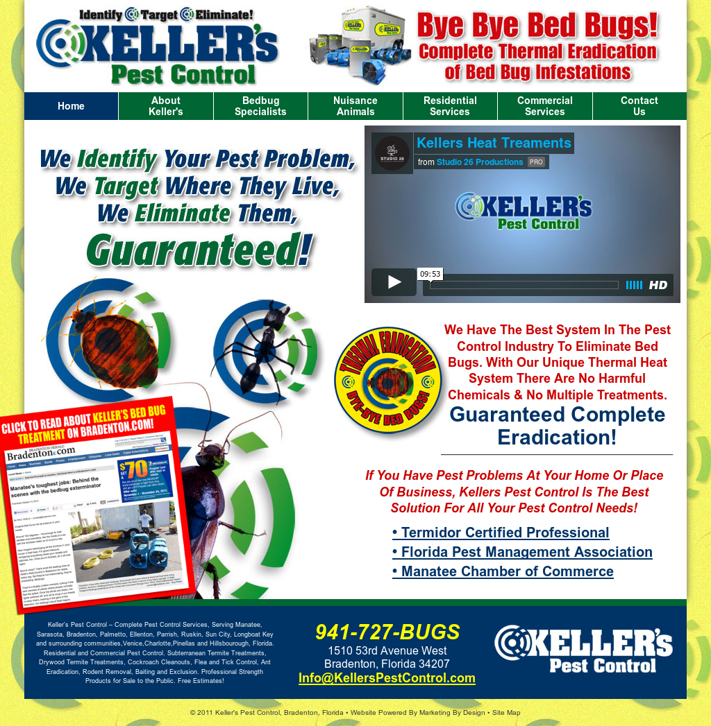 Keller S Pest Control Compeors Revenue And Employees Owler Company Profile