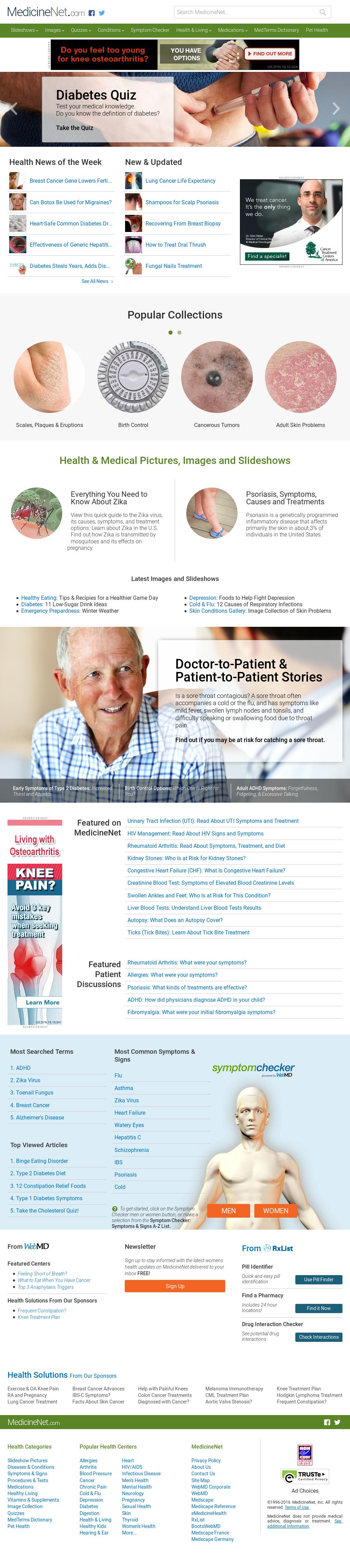 alzheimer medicinenet diabetes