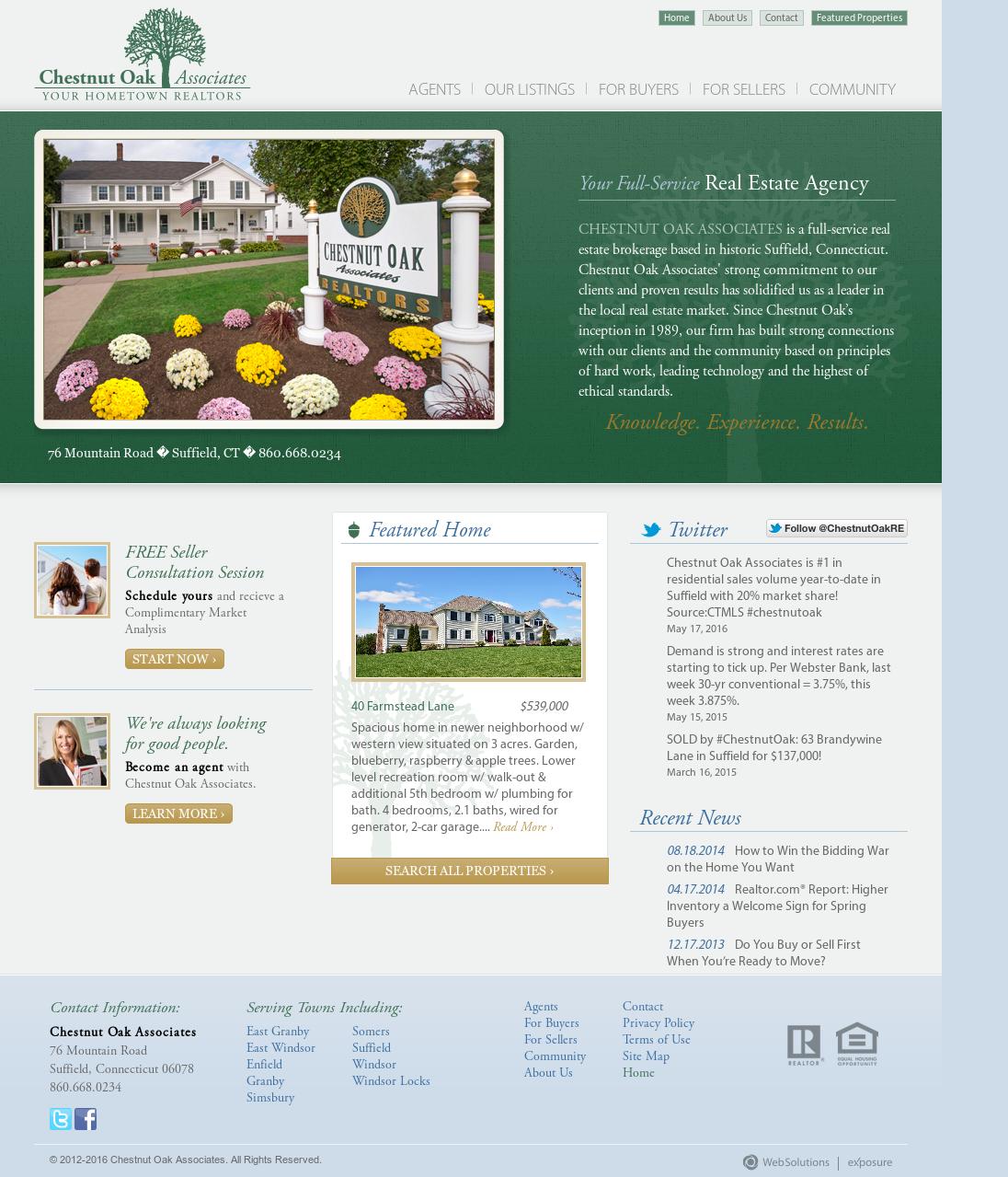 Chestnut Oak Associates Competitors, Revenue and Employees