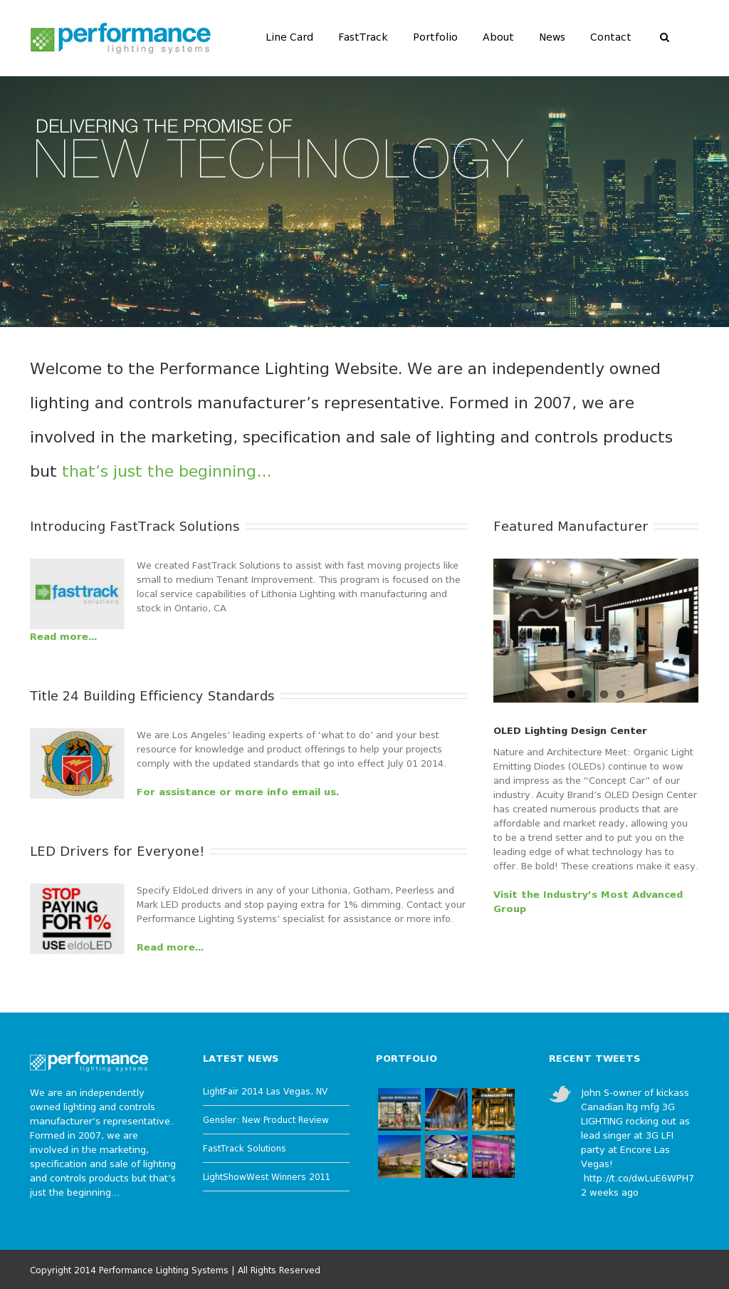 Performance Lighting Systems Compeors Revenue And
