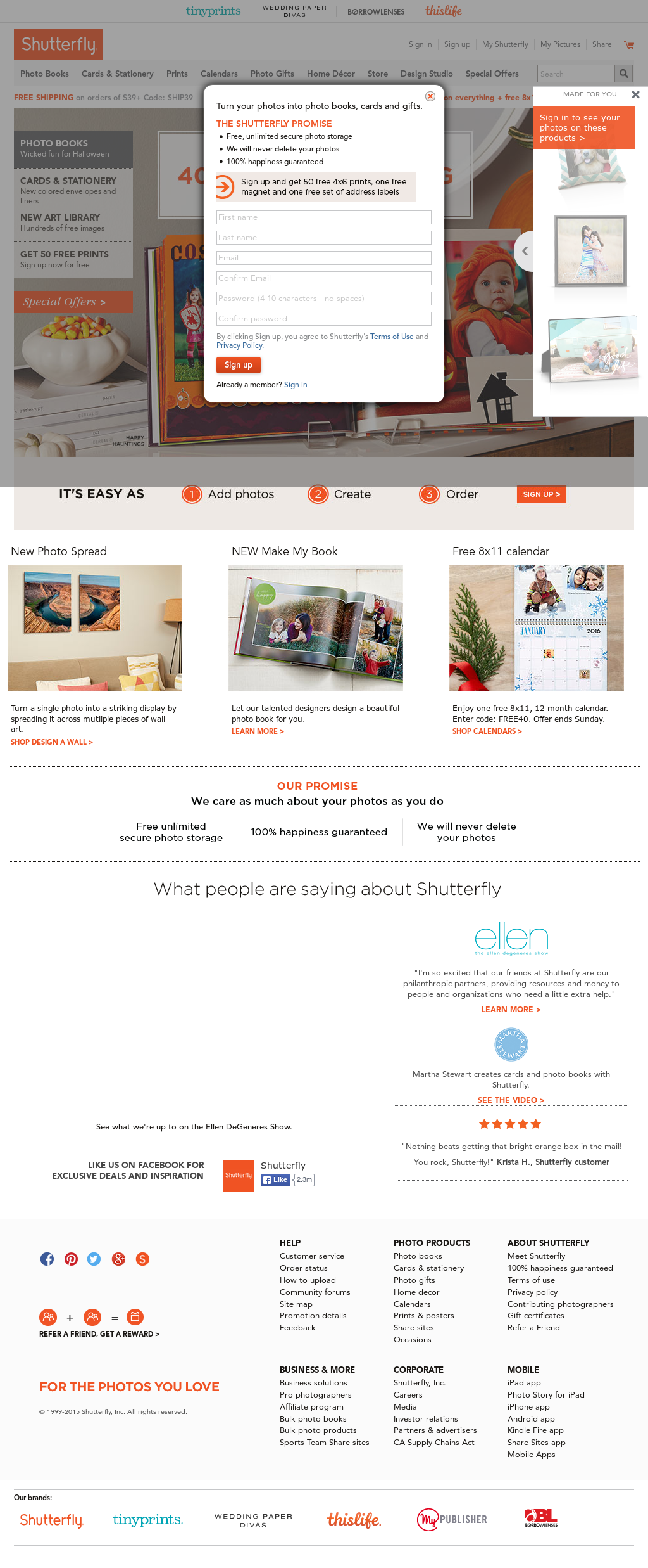 Shutterfly Competitors, Revenue and Employees - Owler