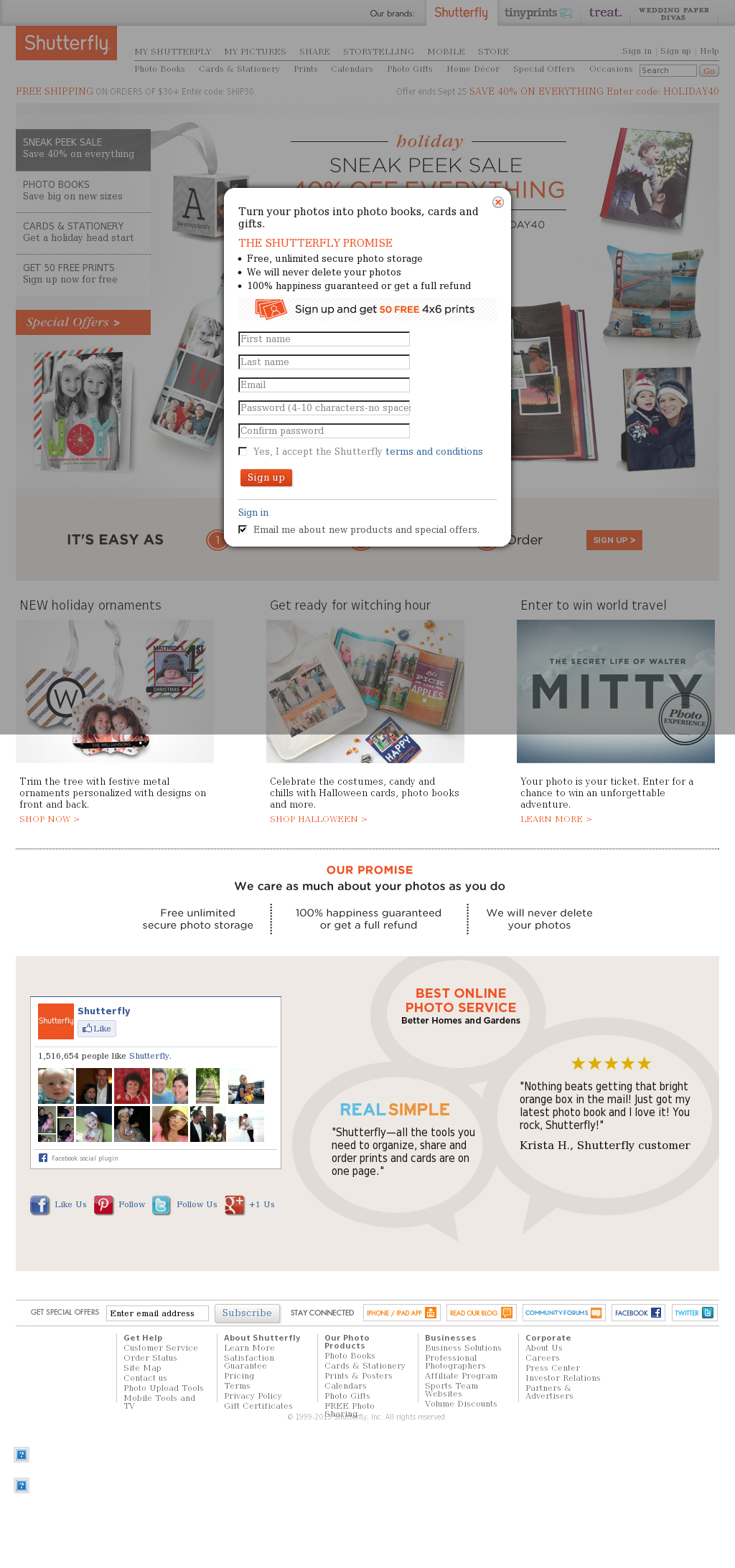 Shutterfly Competitors, Revenue and Employees - Owler Company Profile