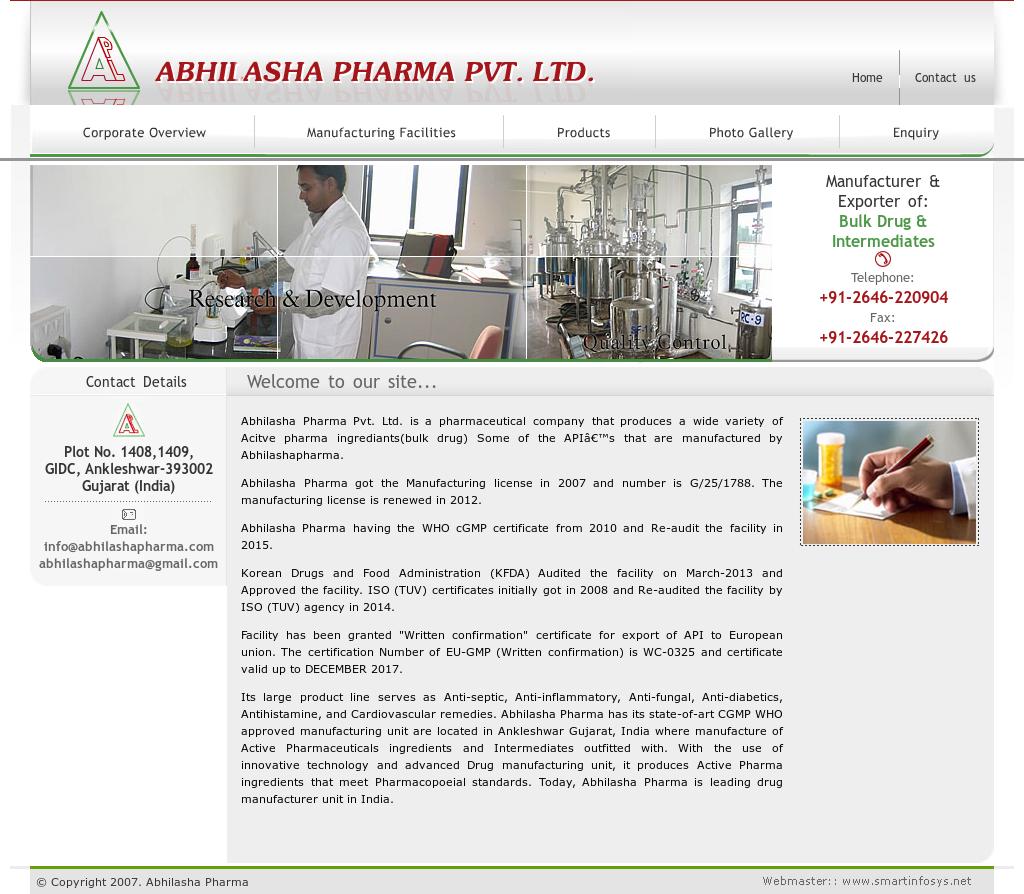 Abhilasha Pharma Competitors, Revenue and Employees - Owler Company