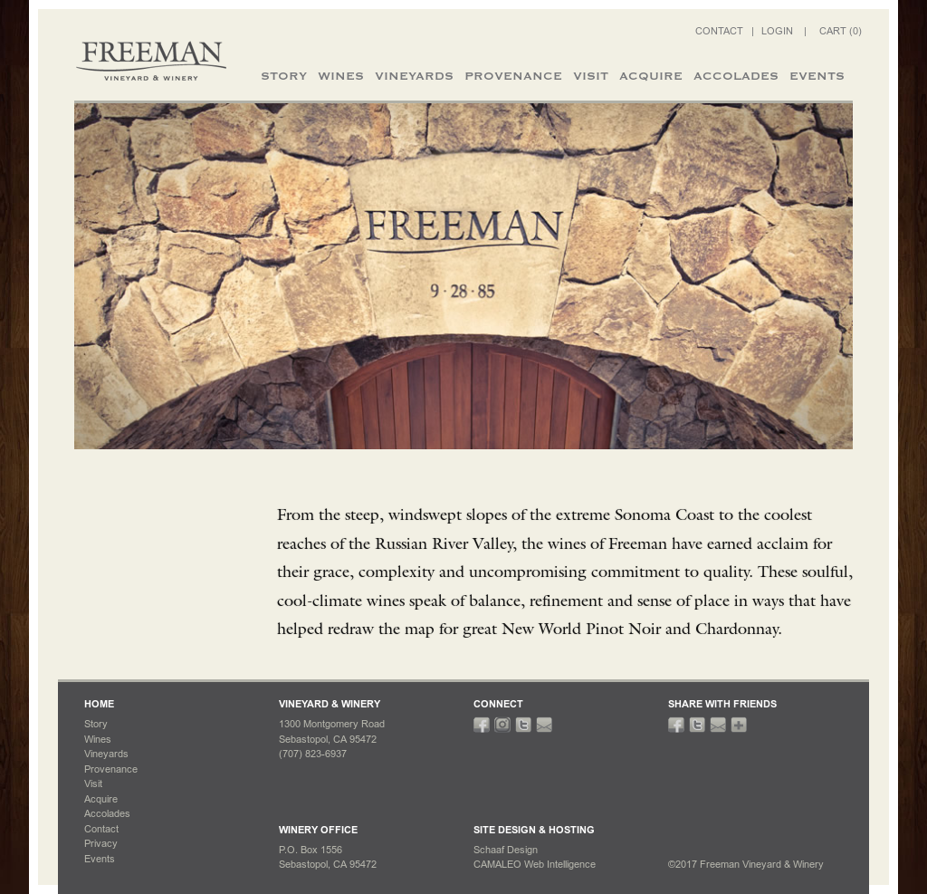 Freeman Vineyard & Winery Competitors, Revenue and Employees
