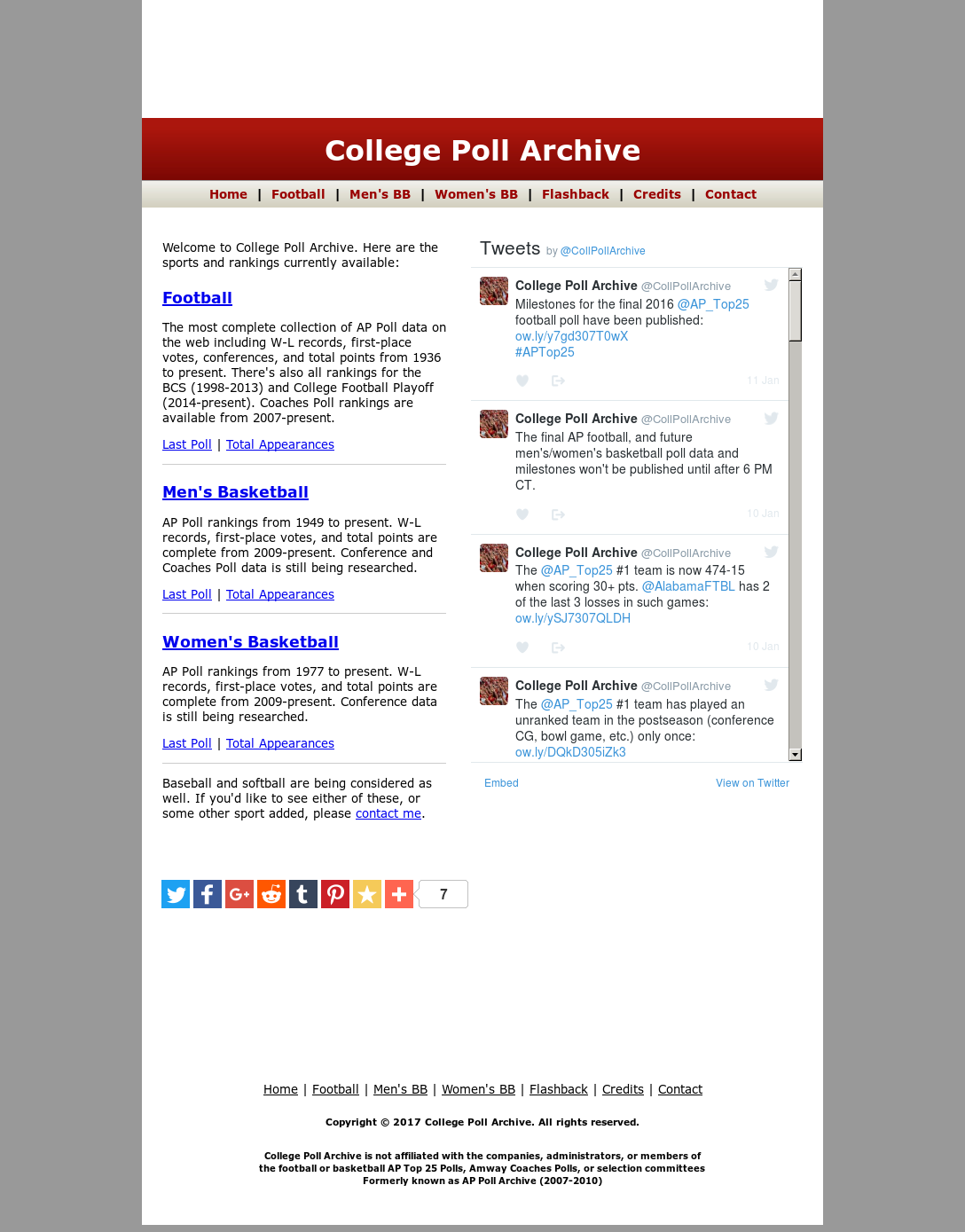 College Poll Archive Competitors, Revenue and Employees - Owler