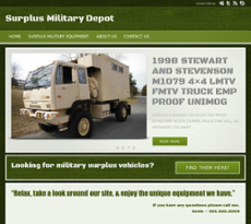 Surplus Military Depot Competitors, Revenue and Employees