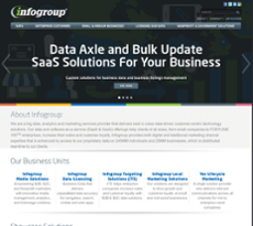 Infogroup website history