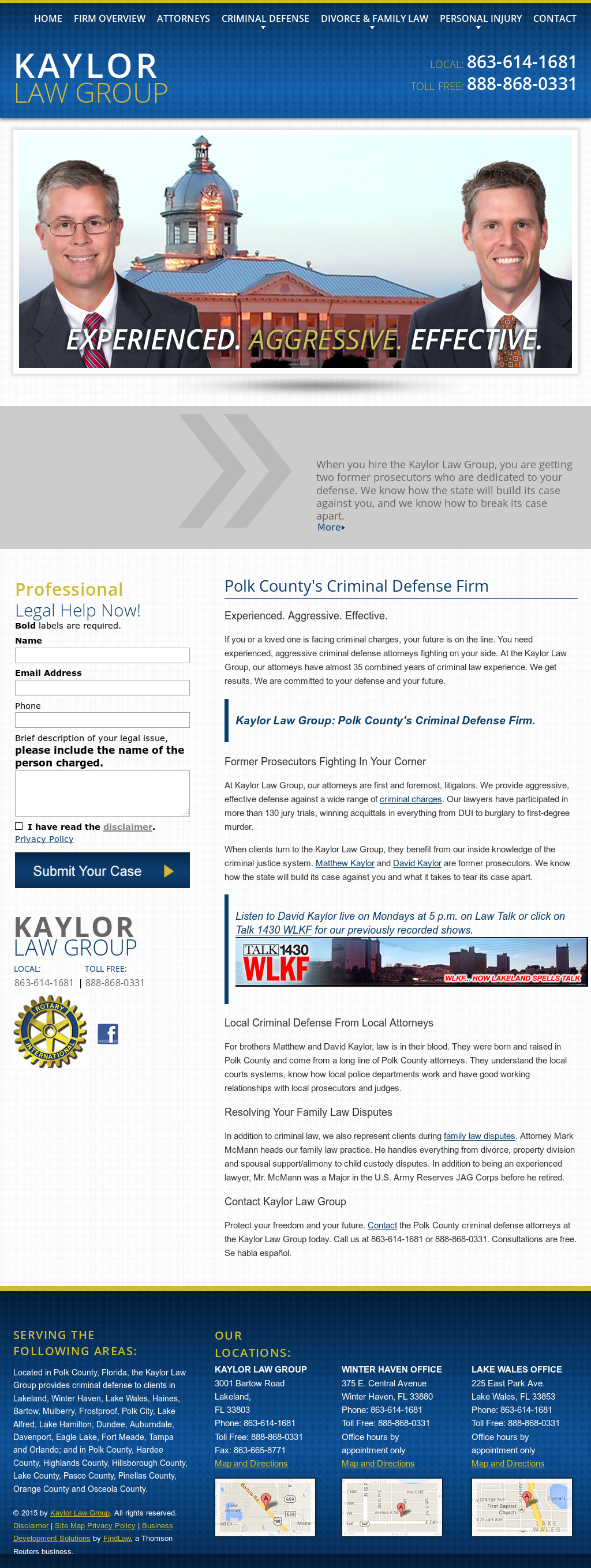 Kaylor Law Competitors, Revenue and Employees - Owler