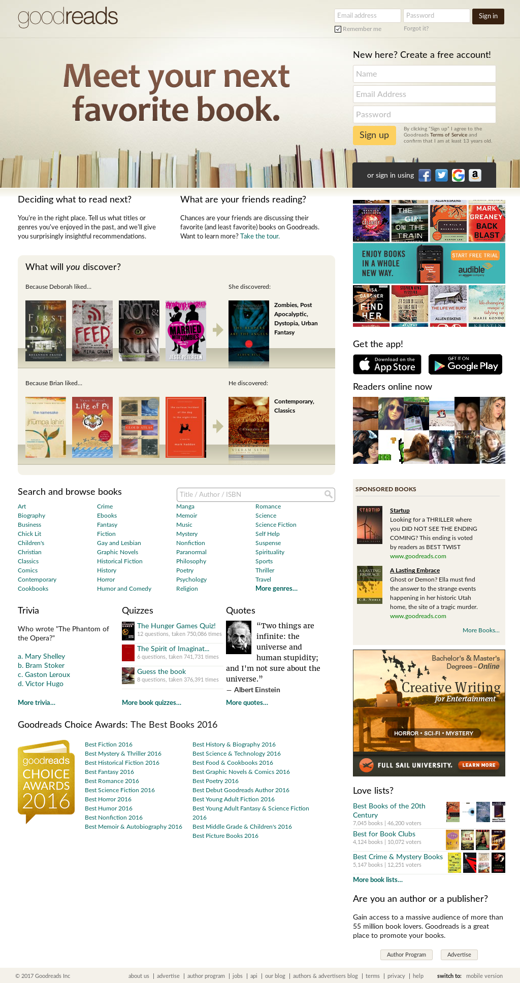 Goodreads Competitors, Revenue and Employees - Owler Company