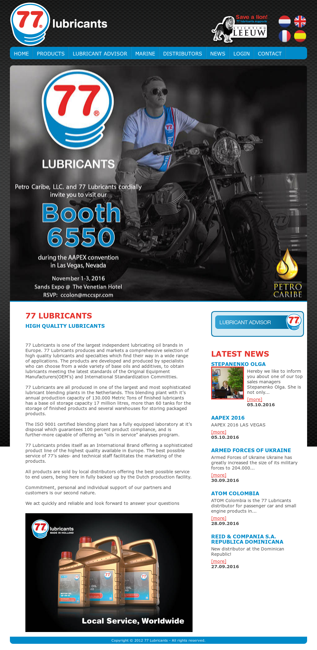77 Lubricants Competitors, Revenue and Employees - Owler Company Profile