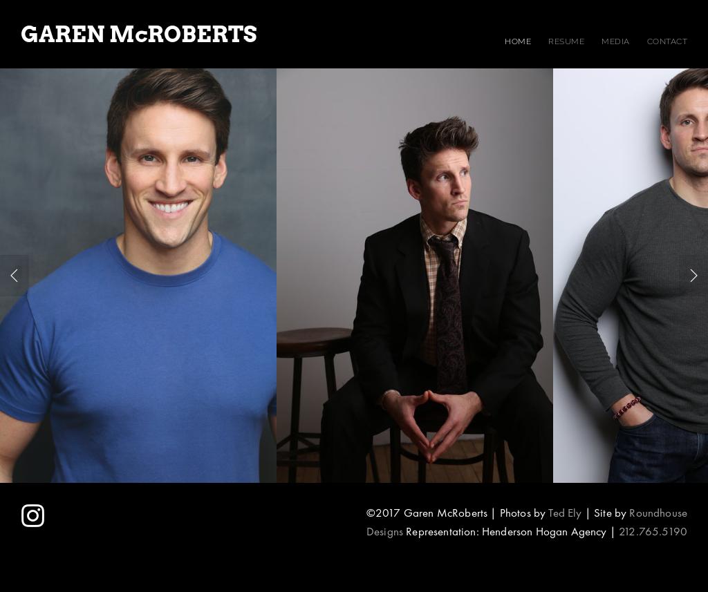 Garen Mcroberts Website History