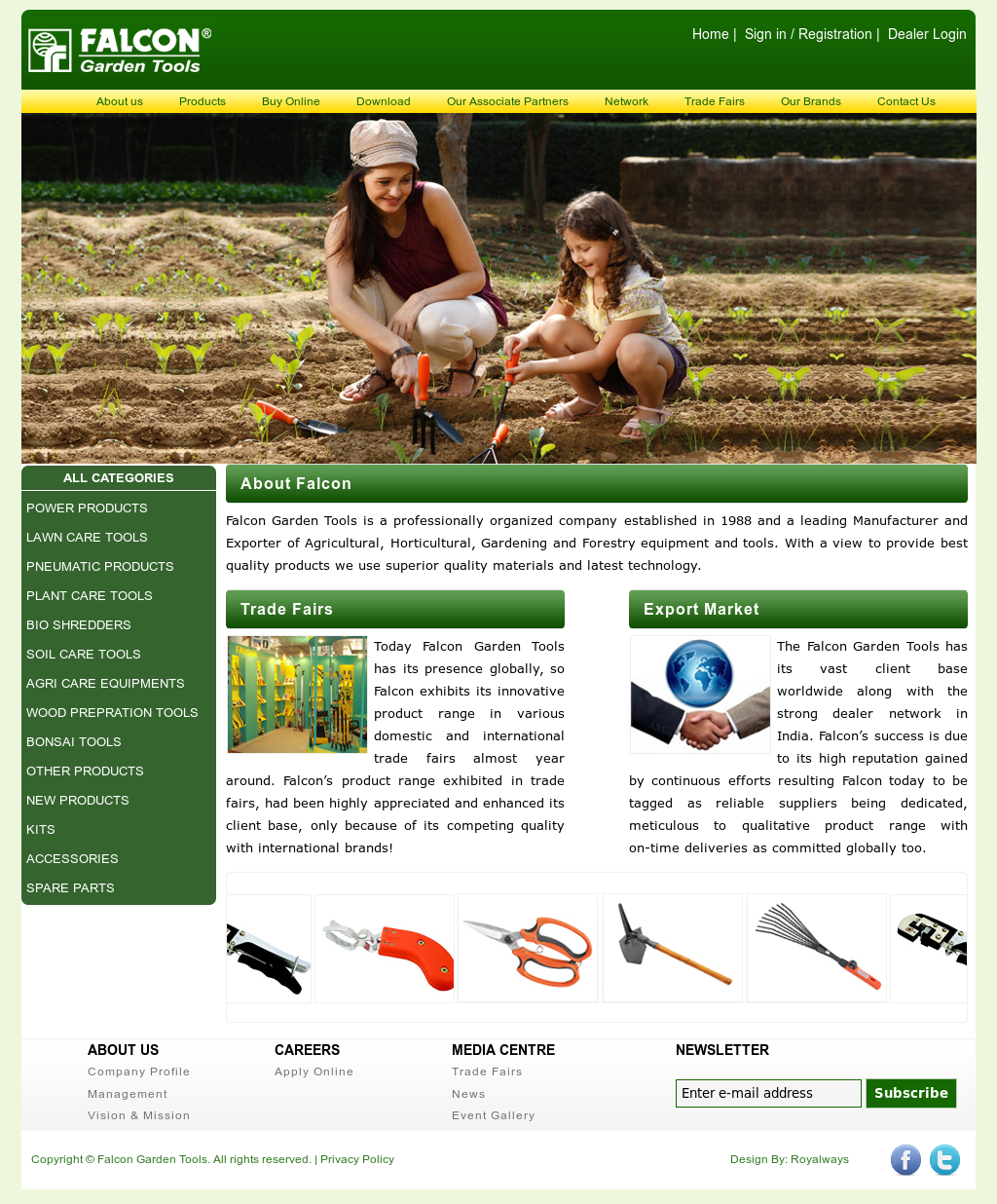 Falcon Garden Tools Competitors, Revenue and Employees - Owler