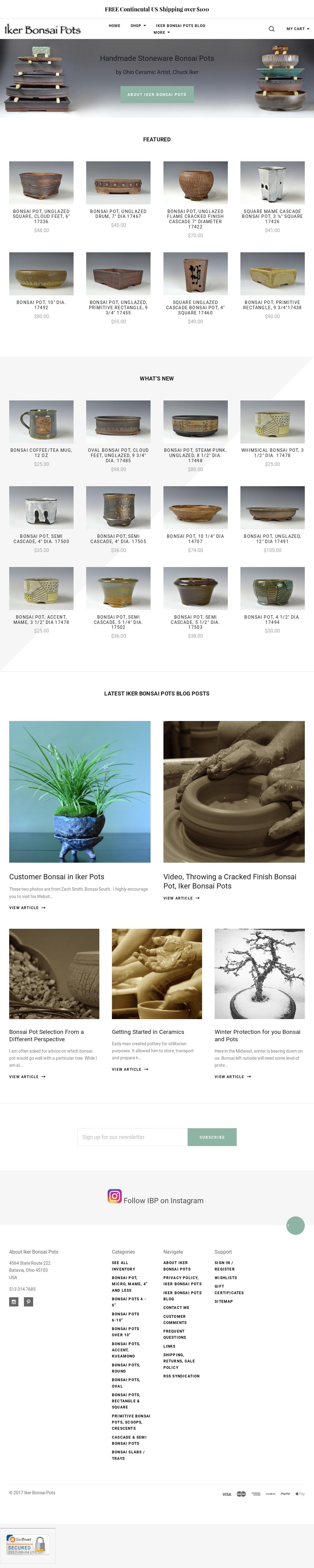 Owler Reports Iker Bonsai Pots Blog Customer Bonsai In Iker Pots