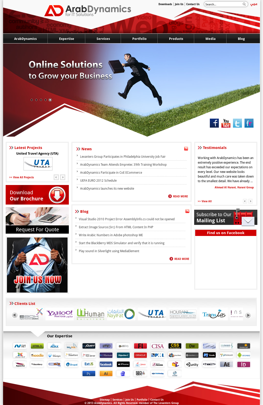 Arabdynamics Competitors, Revenue and Employees - Owler Company Profile