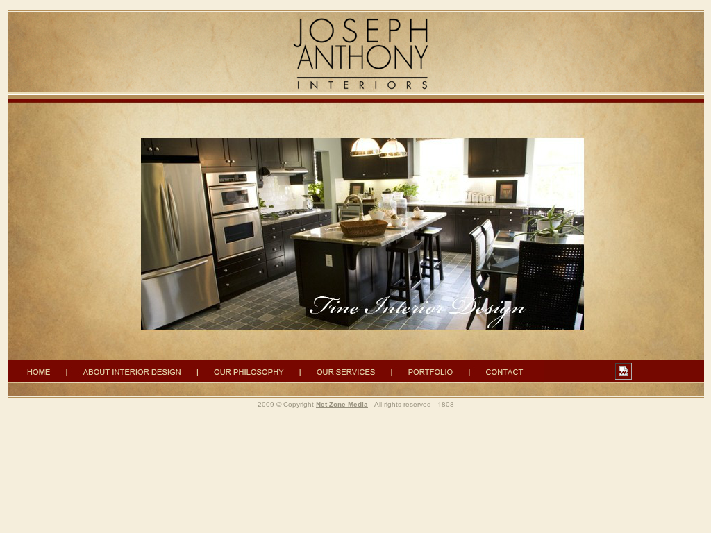 Joseph Anthony Interiors Website History
