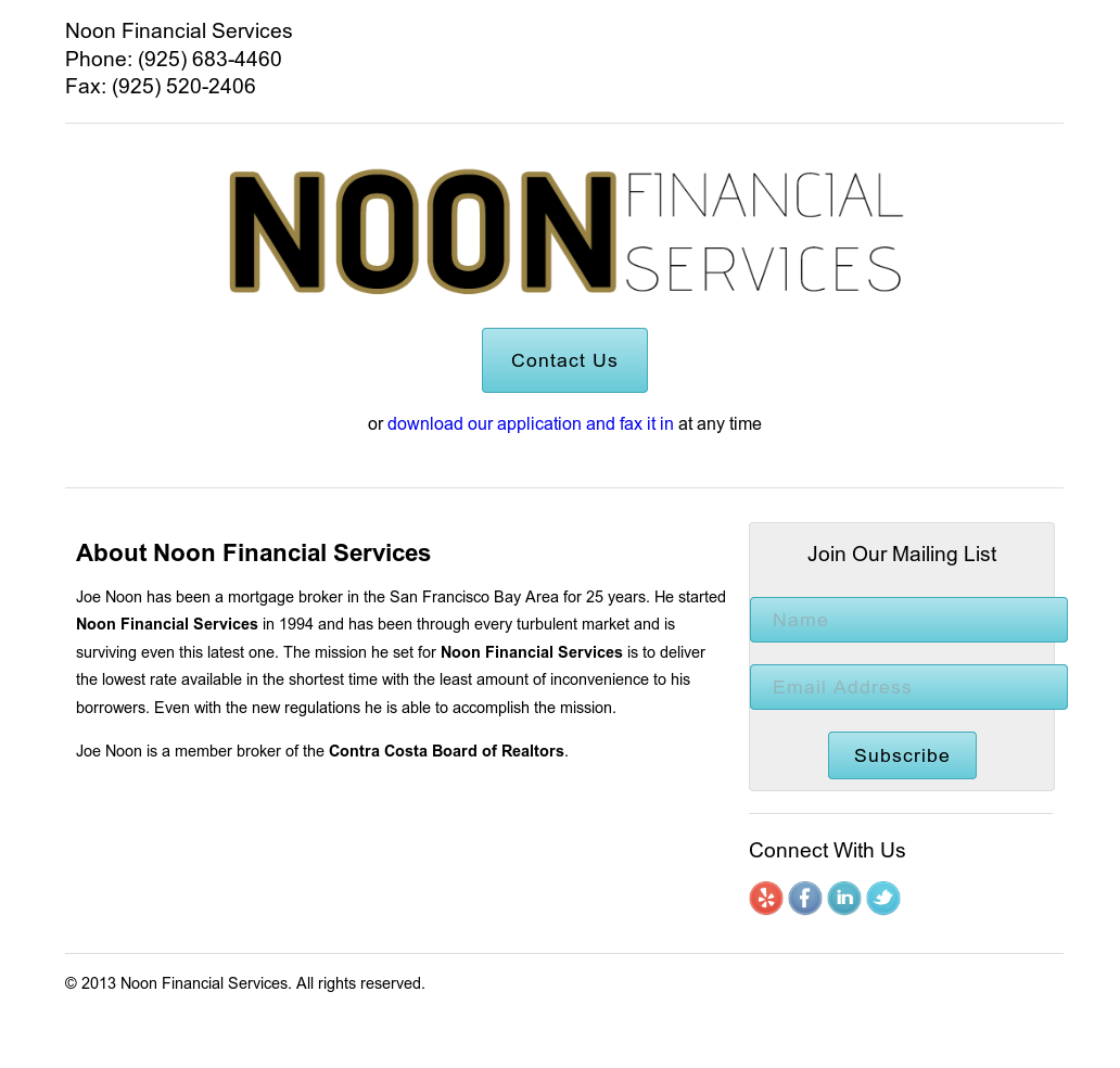 Noon Financial Services Competitors, Revenue and Employees