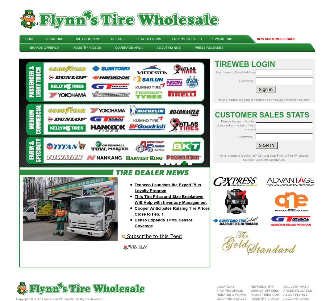 Flynn S Tire Wholesale Competitors Revenue And Employees Owler