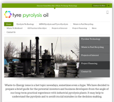 Tyre Pyrolysis Oil Competitors, Revenue and Employees