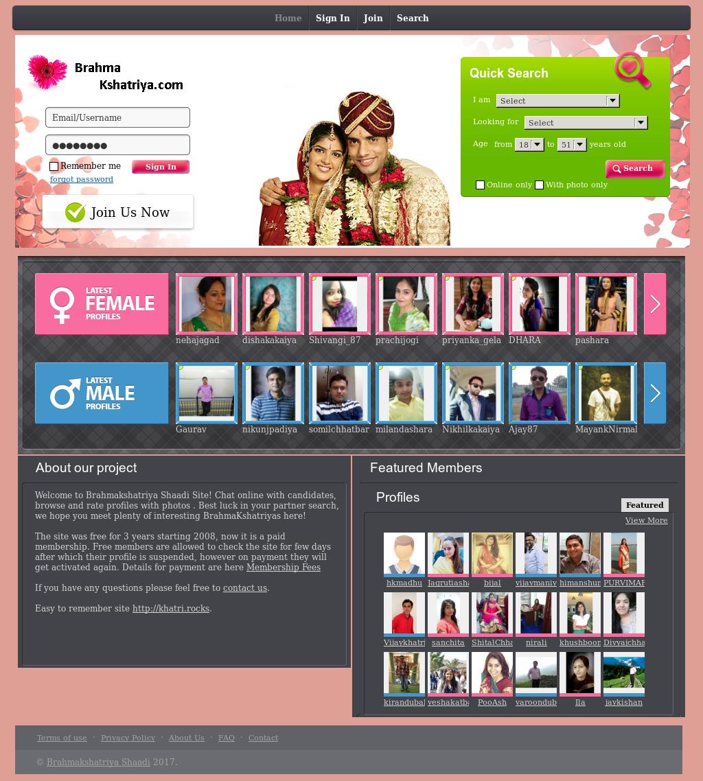 Online dating brahmkshtriya