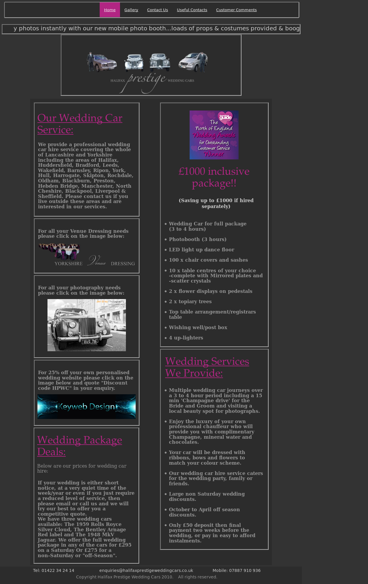 Halifax Prestige Wedding Cars Compeors Revenue And Employees Owler Company Profile