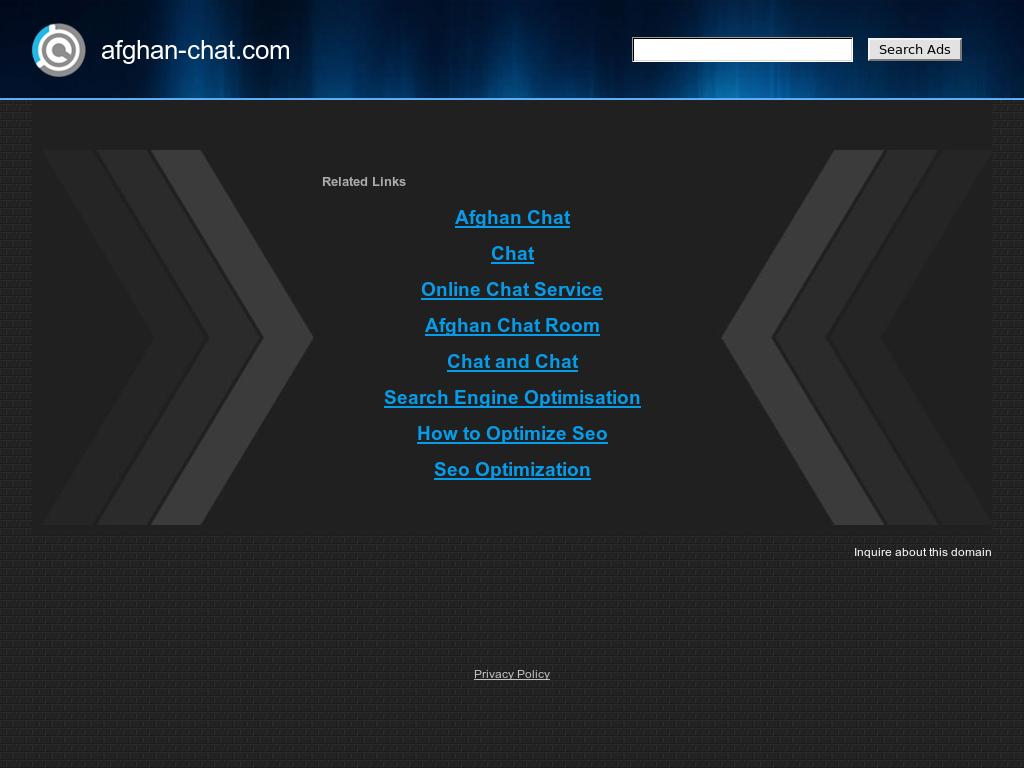 afghan chat room