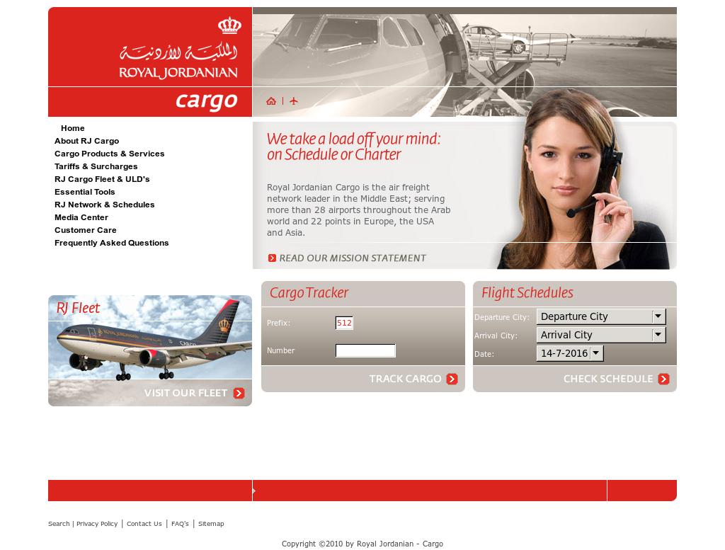 royal jordanian cargo tracking