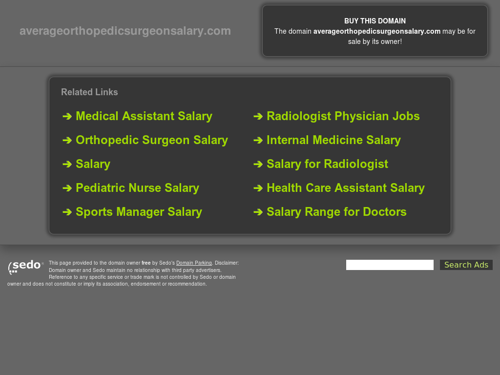Orthopedic Surgeon Salary Competitors, Revenue and Employees - Owler