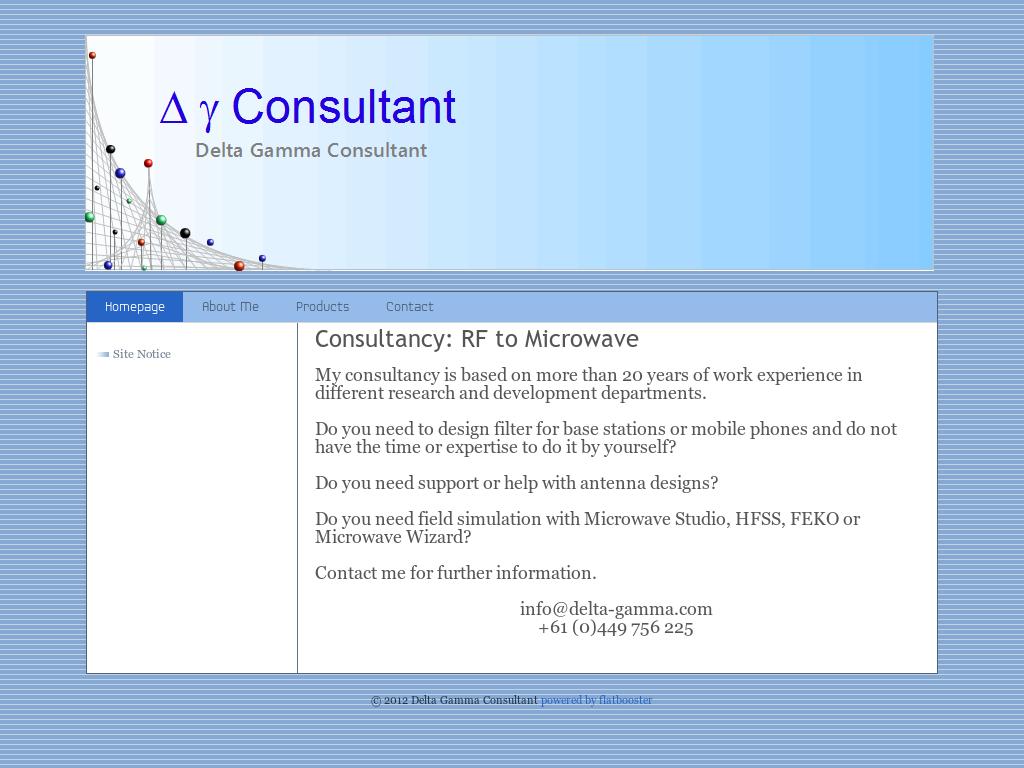 Delta Gamma Consultant Competitors, Revenue and Employees