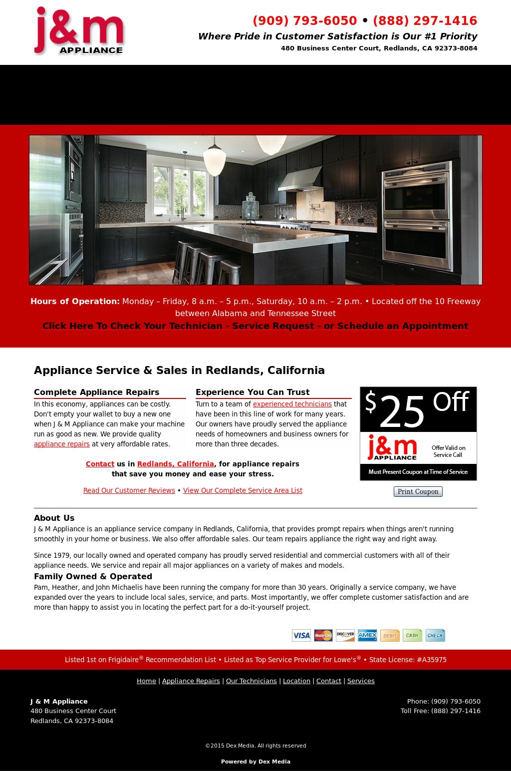 J & M Appliances Competitors, Revenue and Employees - Owler