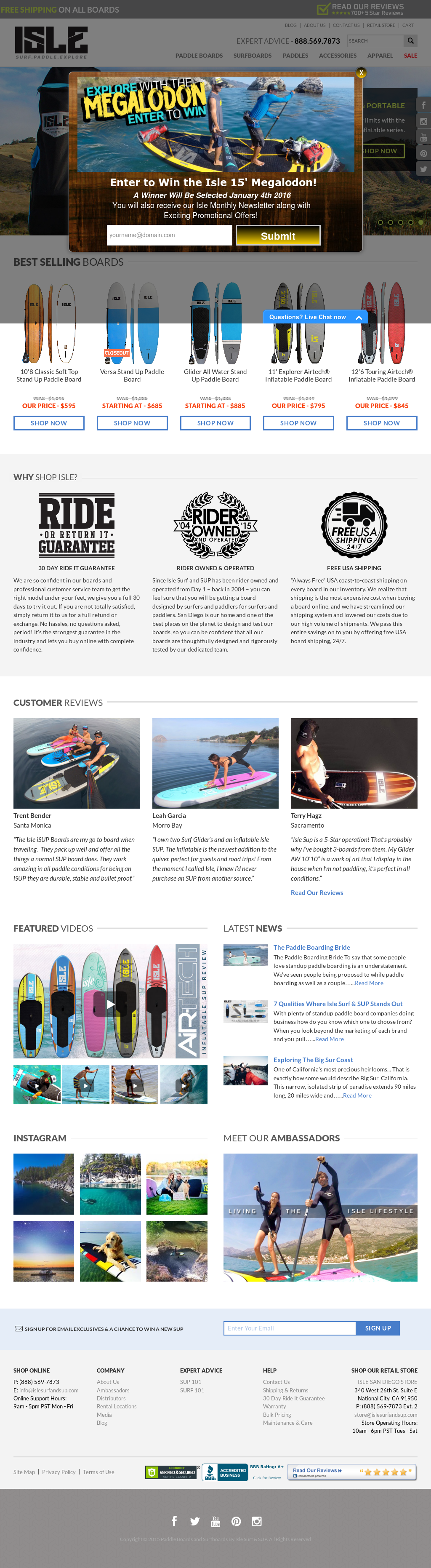 Isle Surf & SUP Competitors, Revenue and Employees - Owler