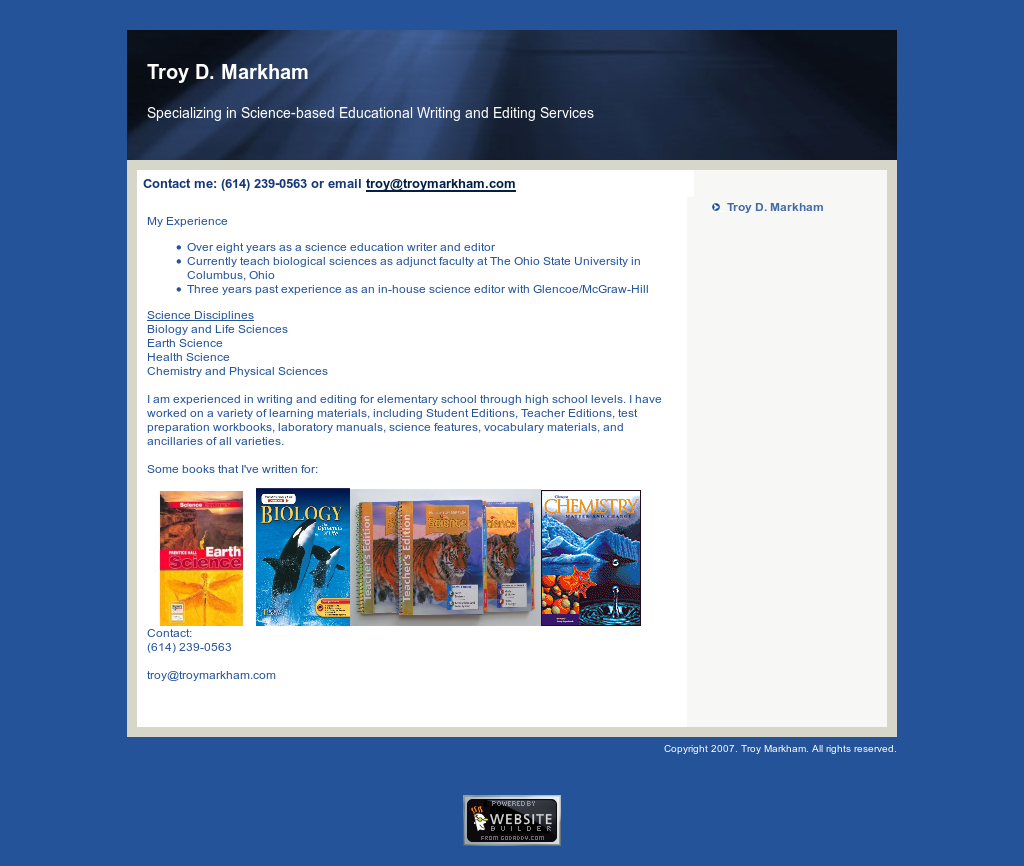 Troy Markham Competitors, Revenue and Employees - Owler Company Profile
