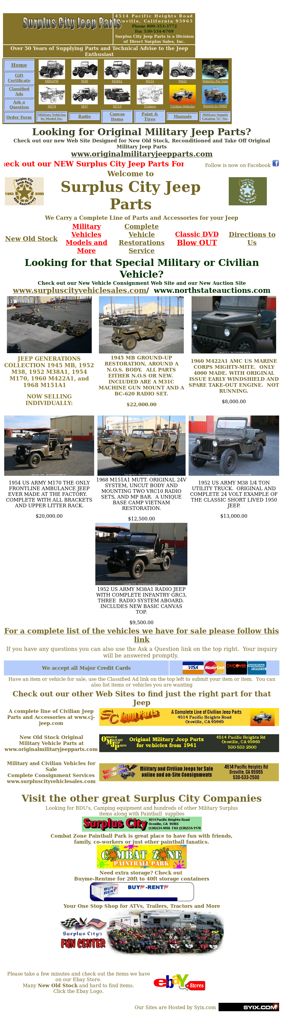 Surplusjeep Competitors, Revenue and Employees - Owler Company Profile