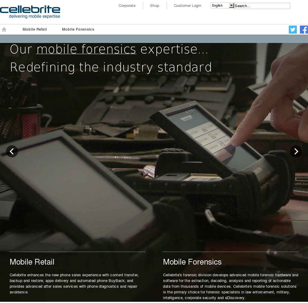 Owler Reports - Press Release: Cellebrite : Cellebrite Receives