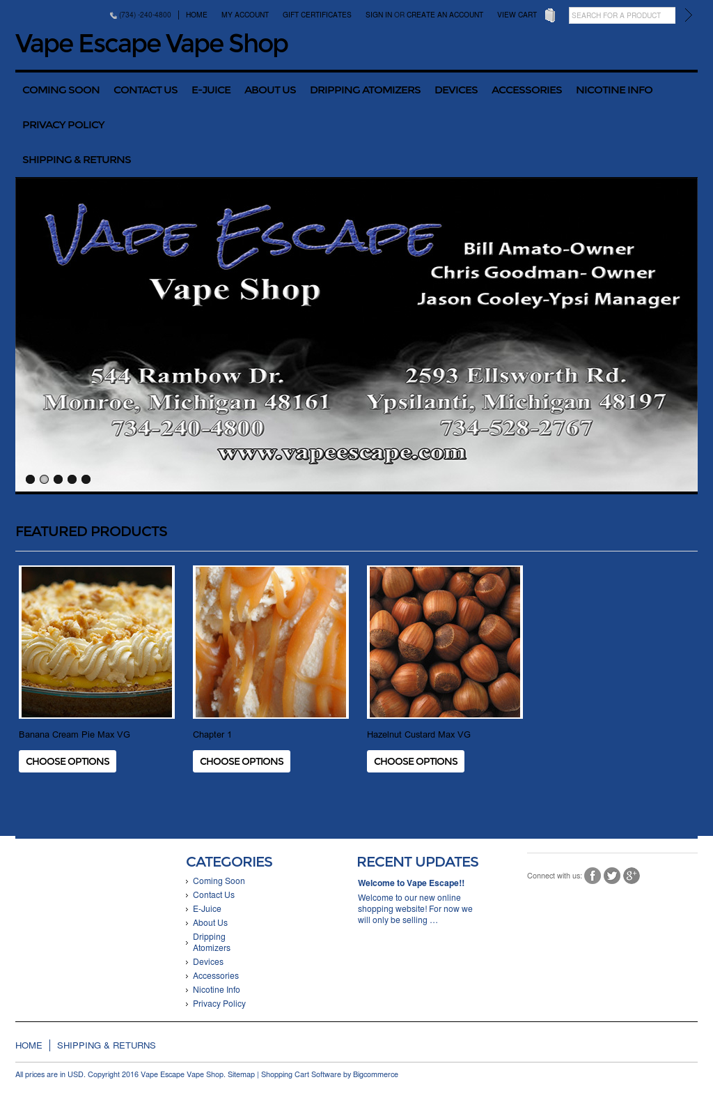 Vapeescape Competitors, Revenue and Employees - Owler