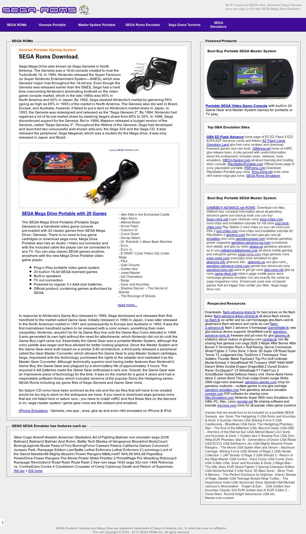Sega Roms Competitors, Revenue and Employees - Owler Company Profile