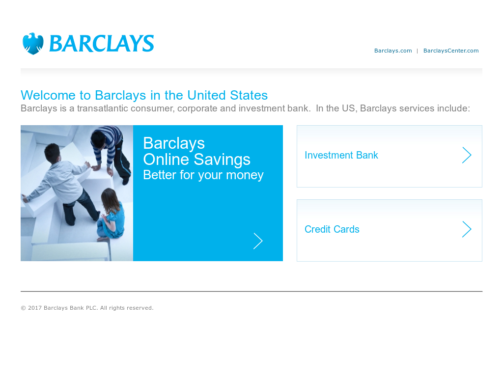 Barclays Financial Competitors, Revenue and Employees